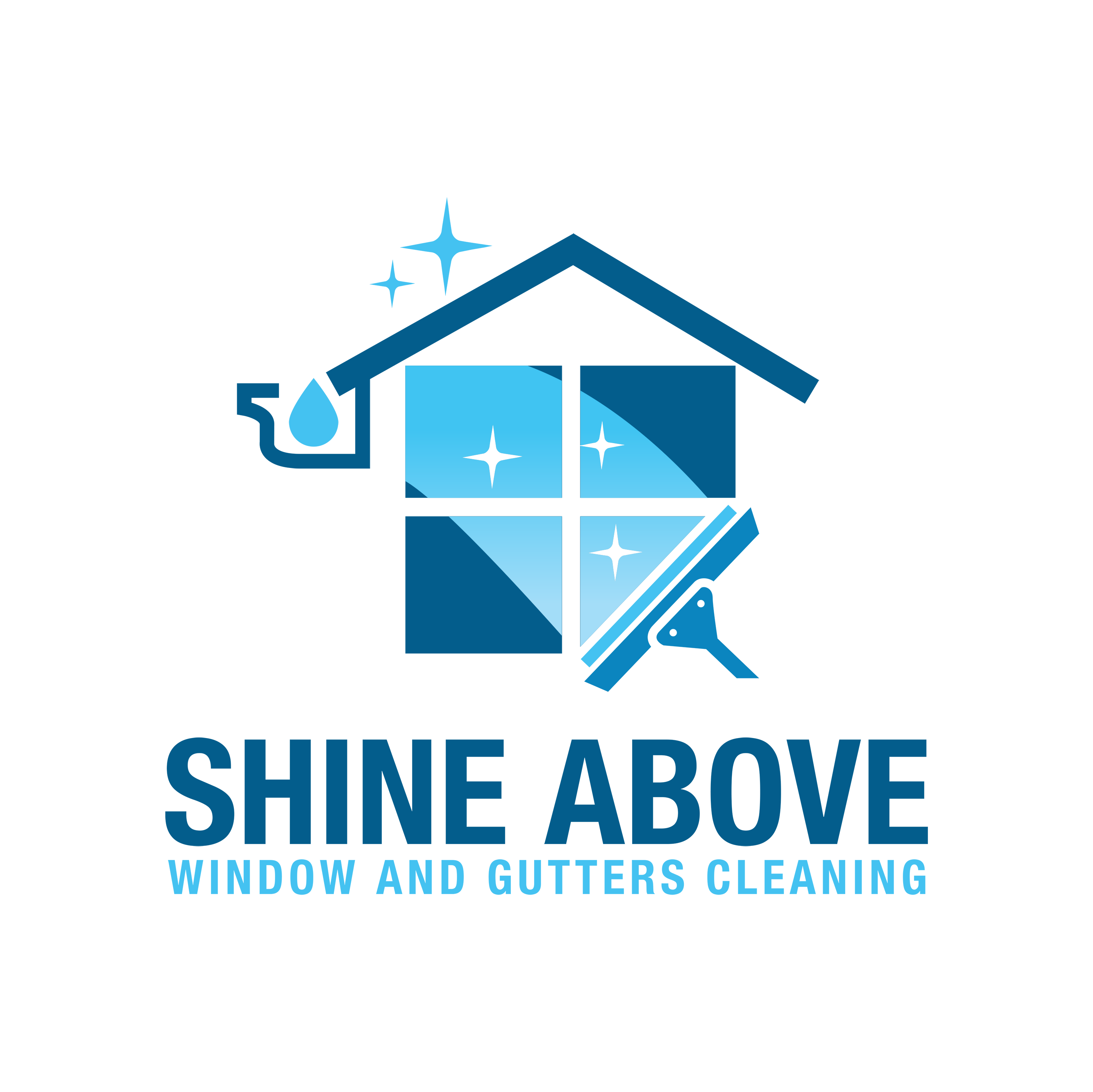 Mosaic Home services brands window and gutter cleaning